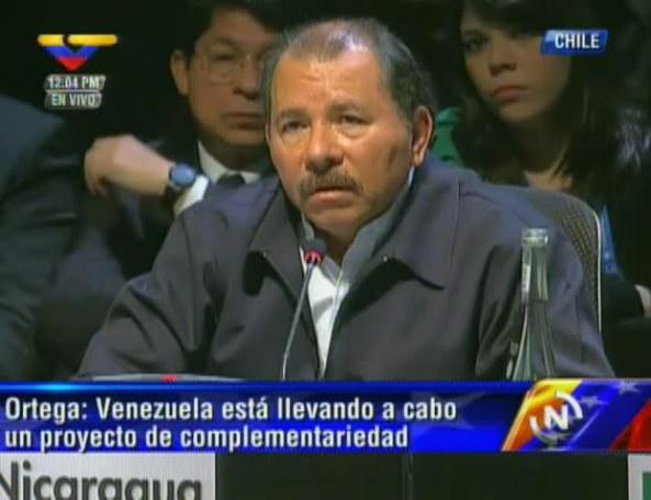 Intervención del Comandante Ortega en la #CELAC2013