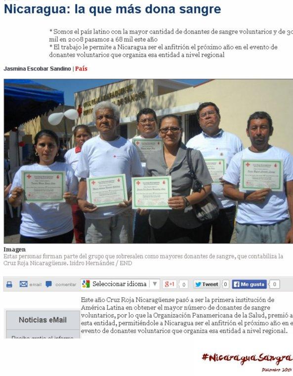 Nicaragua Sangra